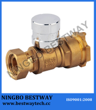 Straight Type Lockable Ball Valve