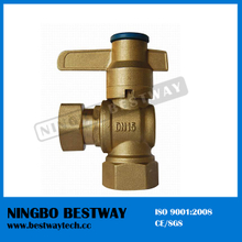 China Ningbo Bestway Magnetic Brass Lockable Ball Valve (BW-L05)