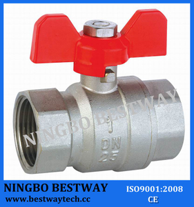 Brass Butterfly Ball Valve