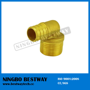 Pex Brass Sliding Fittings Male Elbow
