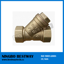Brass Y Strainer Check Valve Fast Supplier (BW-C06)