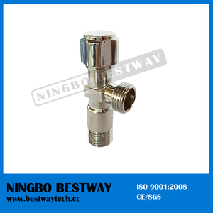 Brass Washing Angle Ball Valve Stock (BW-A32)