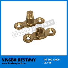 Pipe Clips Female Male Brass Backplate