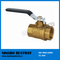 600 Wog Brass Butterfly Handle Ball Valve (BW-B01)