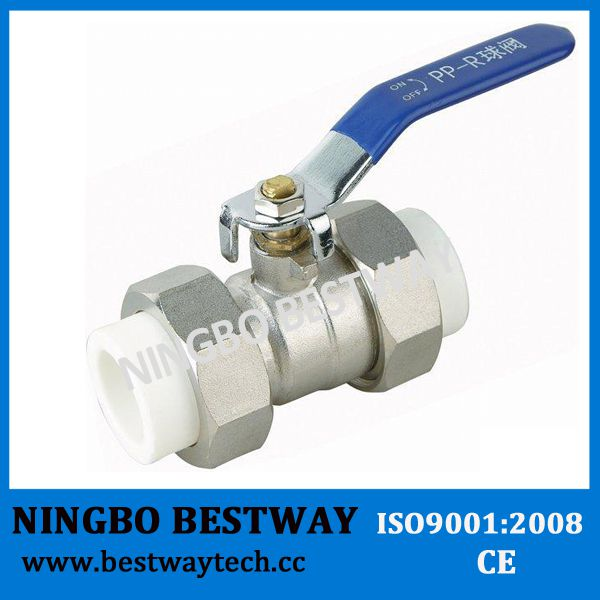 Dn20-Dn63mm Brass PPR Ball Valve