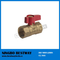 Lead Free Brass Gas Ball Valve with UL Approved