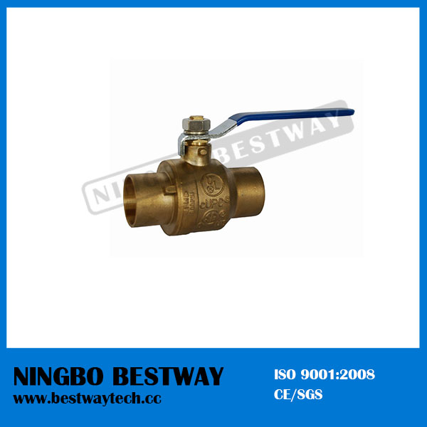 Brass No Lead Solder Ball Valve (BW-LFB02)