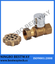 Magnetic Lockable Ball Valve (BW-L17)