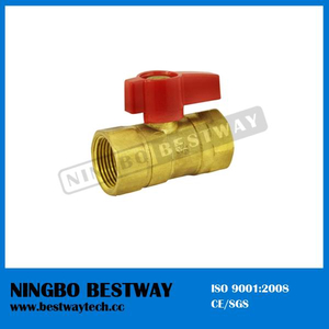 Brass Gas Ball Valve with Aluminum Handle (BW-USB05)