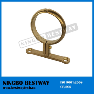 Brass School Board Clip Pipe Clamp