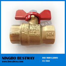 lead free food grade brass ball valve with T handle (BW-LFB01T)