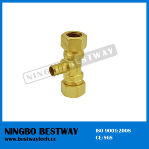 Lead Free Brass Pex Barbed Tees Pipe Fitting