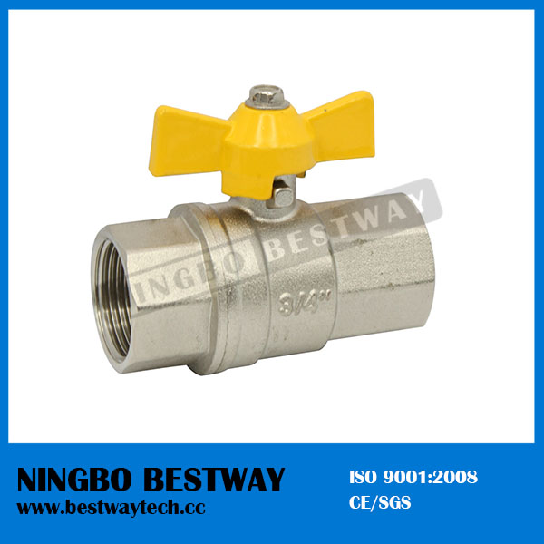 Hot Sale Brass Gas Valve Fxm Price (BW-B137)