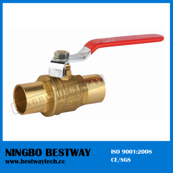Brass Solid Welded Ball Valve