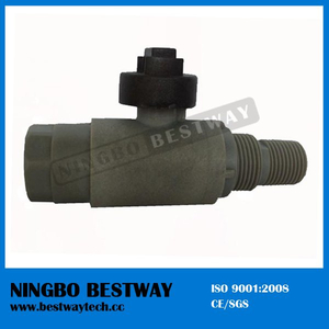 Plastic lockable ball valve -FF
