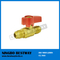 Lead Free Brass Gas Ball Valve with Aluminum Handle (BW-USB08)