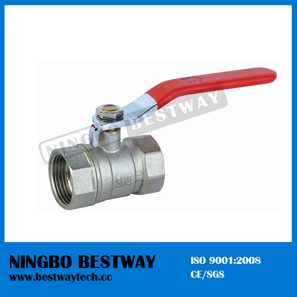 Ningbo Bestway Popular Standard Port Brass Ball Valve (BW-B21)