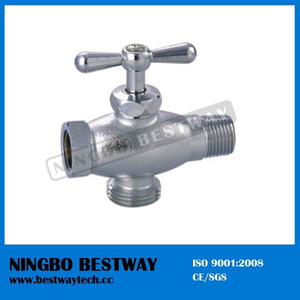 Brass Angle Ball Valve for Washing Machine (BW-A44)