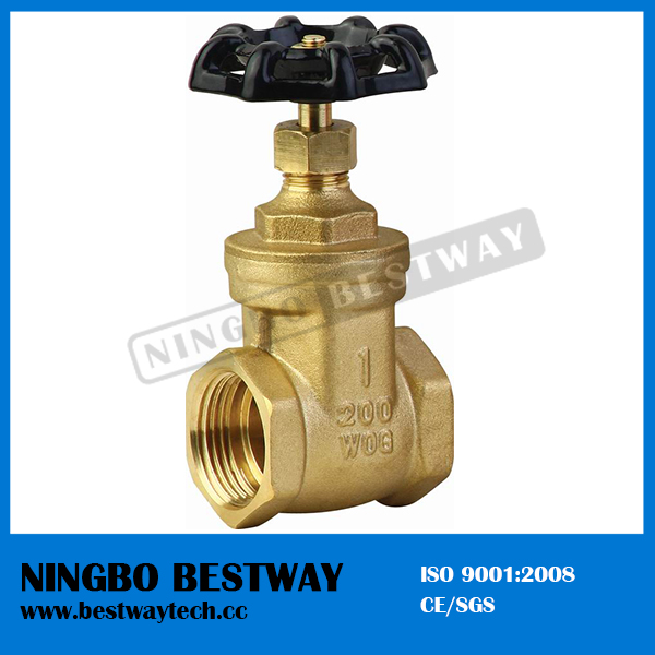 Brass Gate Valve with Cast Iron Handwheel (BW-G01)