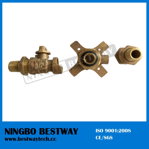 Bronze Expansion Joint 19mm for Water Meter (BW-Q21)