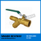 Brass Y Type Ball Valve with Steel Handle (BW-B04)