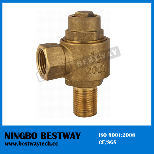 Bronze Hose Ferrule Valve with Compression Fitting (BW-Q09)