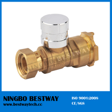 Best Sale Brass Locking Ball Valve with Key (BW-L16)