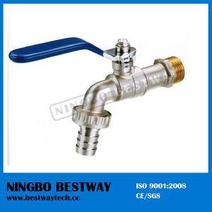 Brass Bibcock Tap with Yellow Thread (BW-Z03)