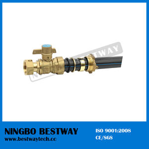 High Performance Brass Lockable Ball Valve with HDPE Pipe (BW-L01A)