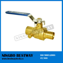Lead Free Brass Pex Ball Valve with Drain (BW-LFB17)