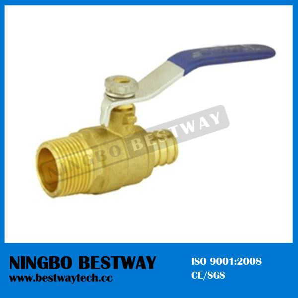 600wog Lead Free Brass Mipxpex Ball Valve for Pex Pipes