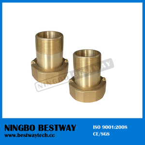 Ningbo Bestway Standard NPT Thread Eco Brass Water Meter Coupling