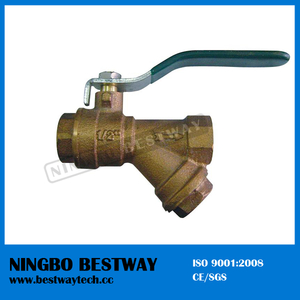 Top Sale Bronze Ball Valve with Filter (BW-Q08)