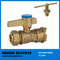 Brass Lockable Ball Valve (BW-L01)