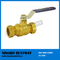 Two Pieces Brass Compression Ball Valve