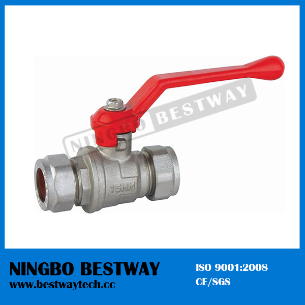 High Performance Brass Ball Valve with Pipe Fitting (BW-B40)