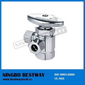Brass Multi-Turn Three Way Angle Valve (BW-A48)