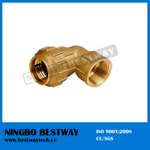 Brass Compression Fitting for HDPE Pipe (BW-305)