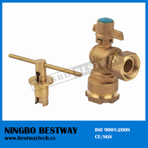 Top Ball Valve with Lock Factory (BW-L02)