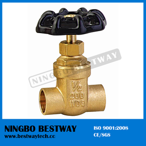 200 Wog Brass Gate Valve Hot Sale (BW-G08)